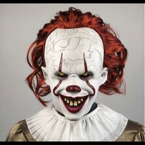 It pennywise clown halloween mask